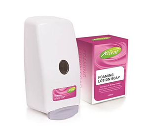 Accent Hygiene Range - Foaming Lotion Soap