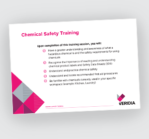 Chemical On-Demand Training